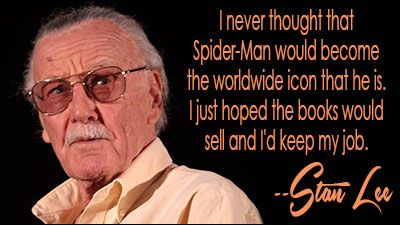 Pin By Giftkone On Comic Book Wisdom Stan Lee Stan Lee Quotes
