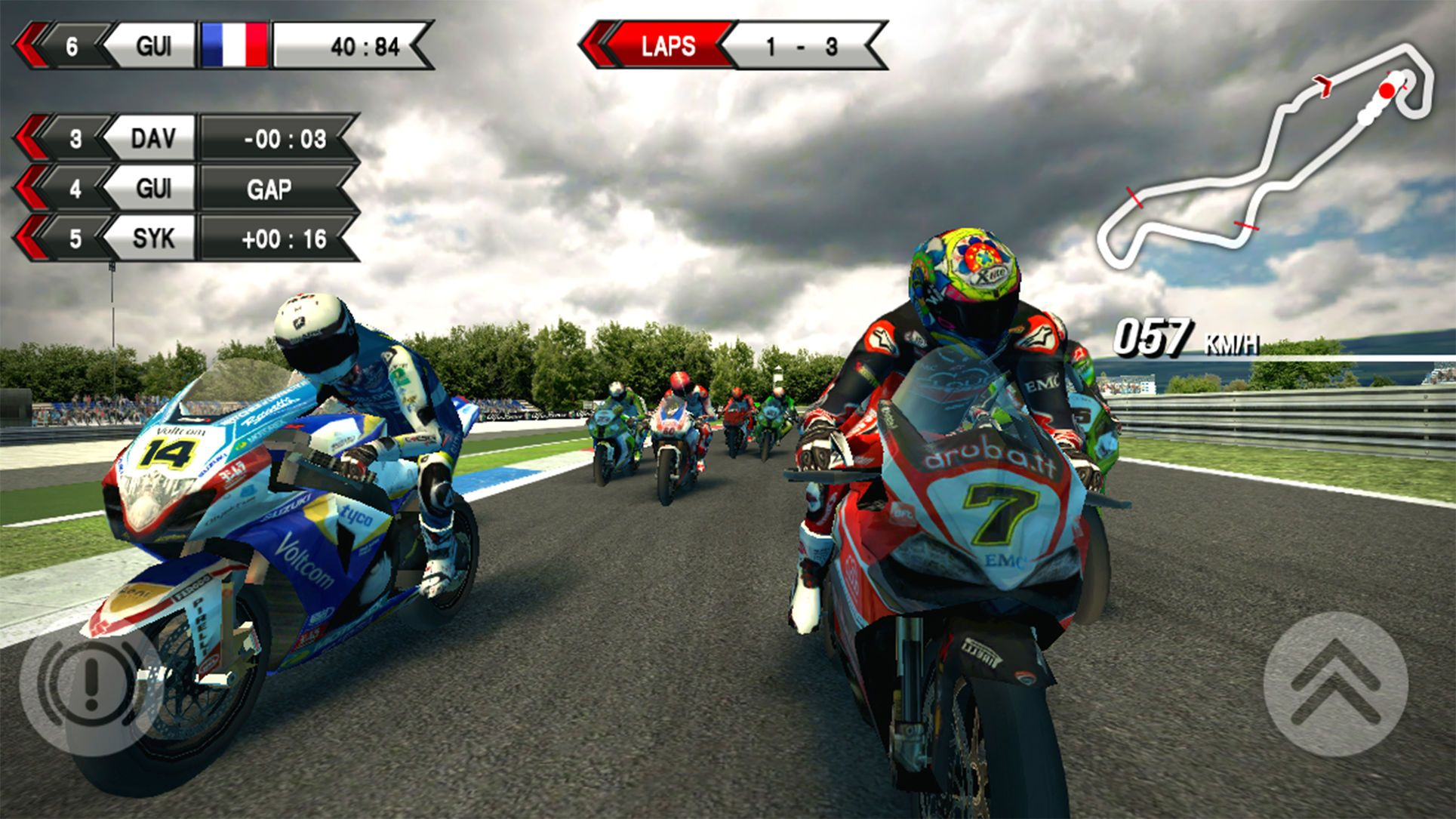 SBK15 Official Mobile Game GamesTalesRacingSports