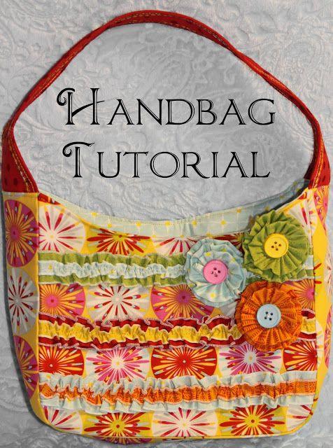 I Got The Notion Small Handbag Pattern Tutorial