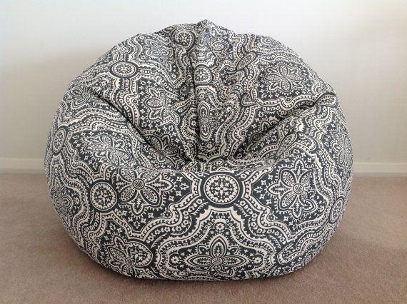 Bean Bag Teenagers Adults Boho Design Moroccan By MyBeachsideStyle