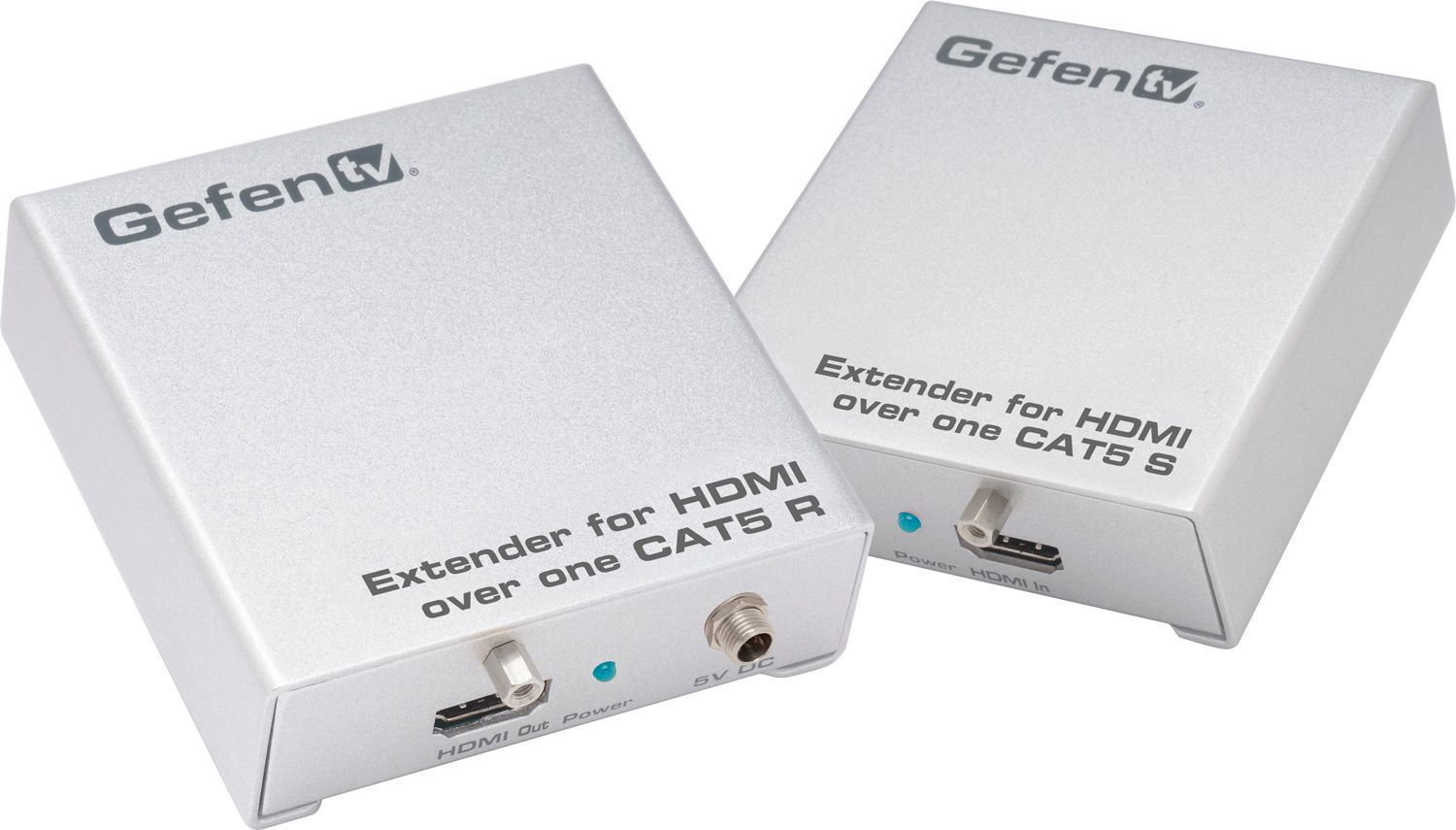 Gefen Hdbaset Extender For Hdmi Over One Cat5 Uses Cat 5e Wiring On Av Matrix Switches Audio Video Switch