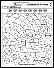 Fun And Creative Color By Number Coloring Pages Coloring Pages St Patricks Coloring Sheets Fall Coloring Pages