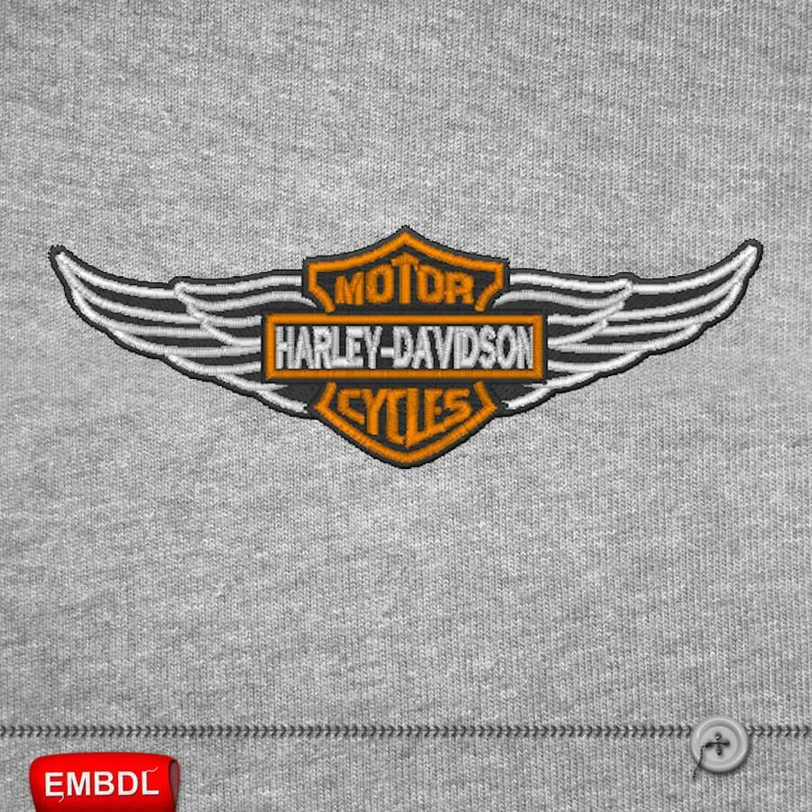 Harley Davidson Embroidery Design Download Embroidery
