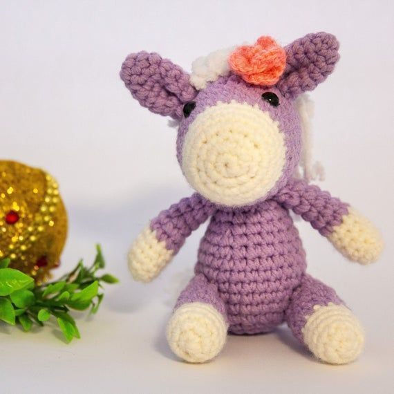 Crochet Pony Horse Stuffed Animal Amigurumi Pony Plush Horse Toy Plush Pony Crochet Pony Horse Stuffed Animal Amigurumi Pony Plush Horse Toy Plush Pony  Crochet Pony Hors...