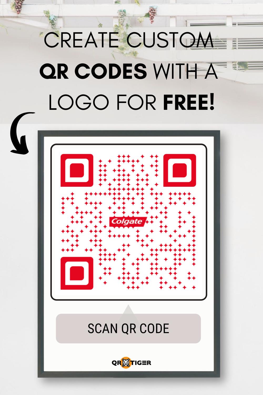 Colgate Inspired Qr Code Colgate Qr Code Colgate Free Custom Qr Codes Qr Code Maker Online Coding Qr Code Free Qr Code Generator