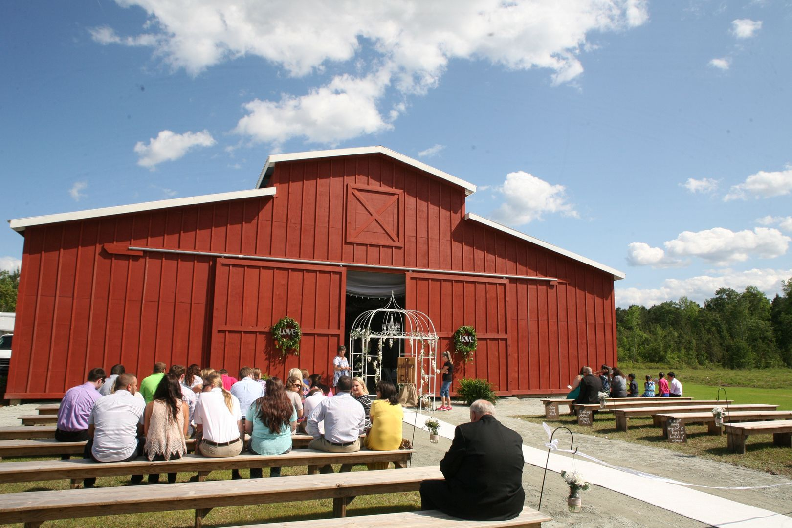 top ten wedding venues in cape town%0A Wedding venue The Wedding Barn New Bern NC