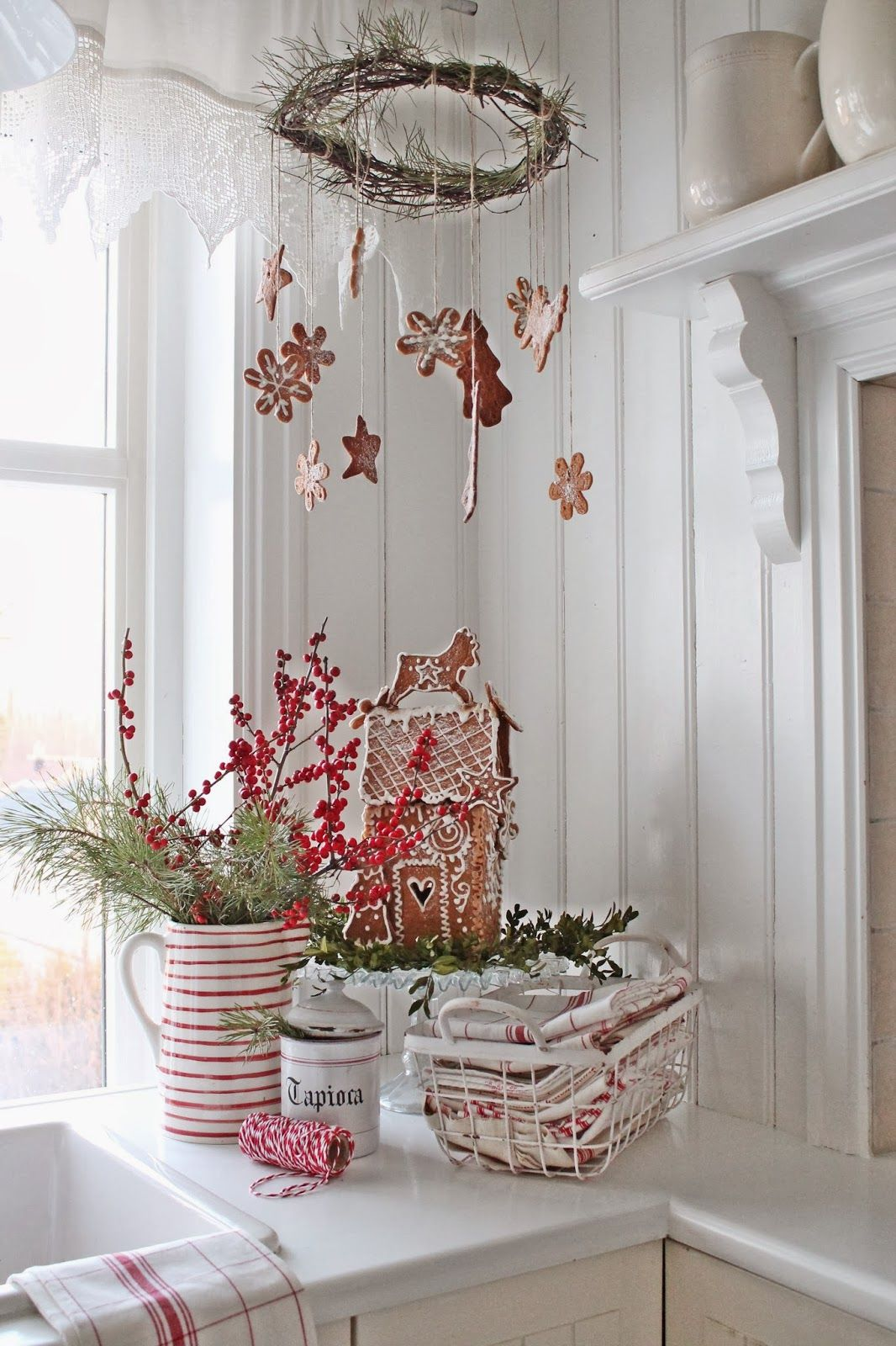 VIBEKE DESIGN jul beautiful white scandinavian