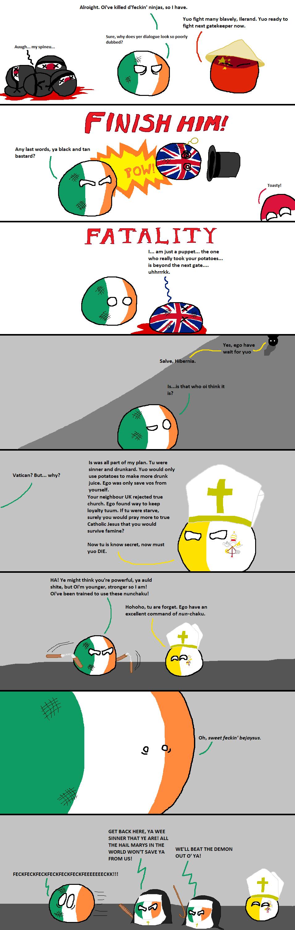 Peter Of Ireland Or Peter Of The Uk Polandball