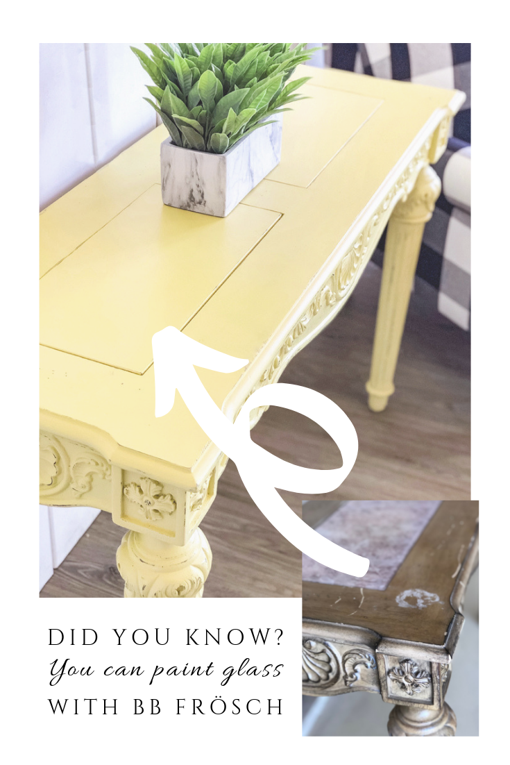 How To Paint A Table With Glass Inserts Coffee Table Makeover Glass Table Redo Painted Table [ 1102 x 735 Pixel ]