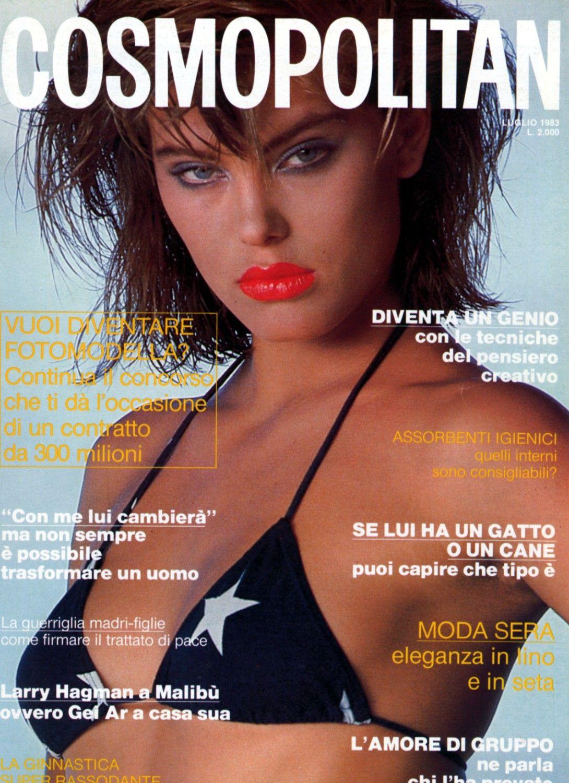 Renee Simonsen  -  Cosmopolitan Italy July 1983