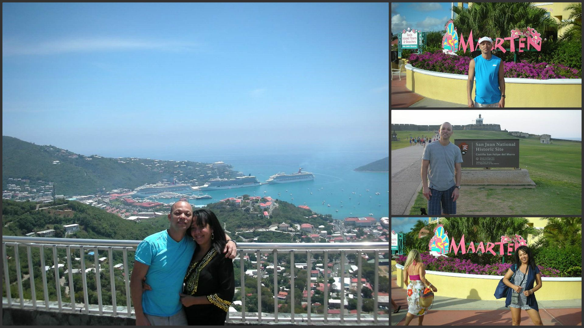 US Virgin Island San Juan Puerto Rico