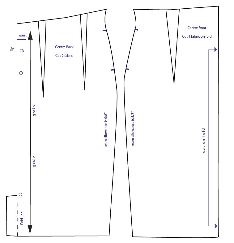 A Line Skirt Pattern | Sew-Simple.com