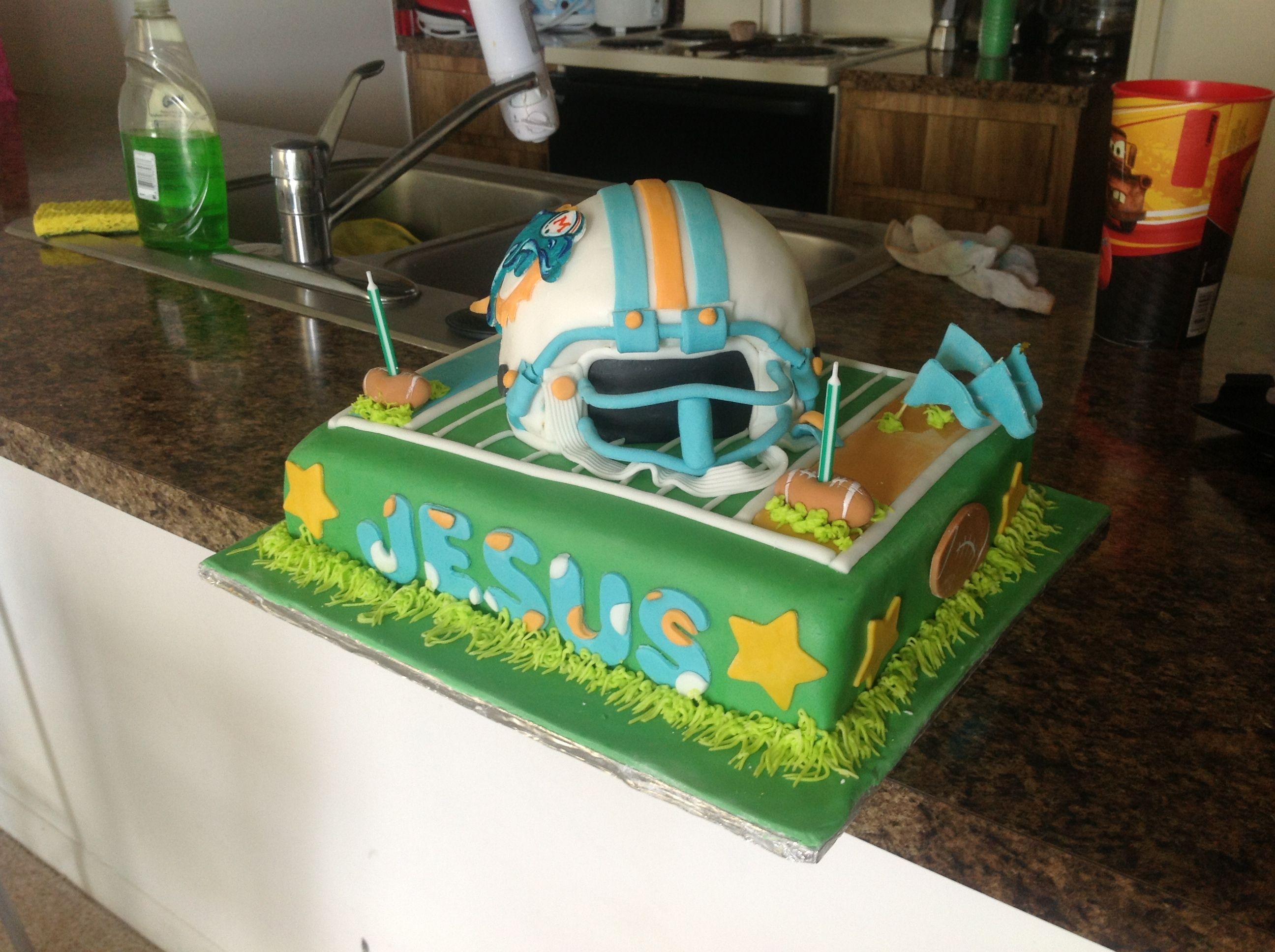 Miami dolphins cake miami dolphins cake dolphin cakes cake