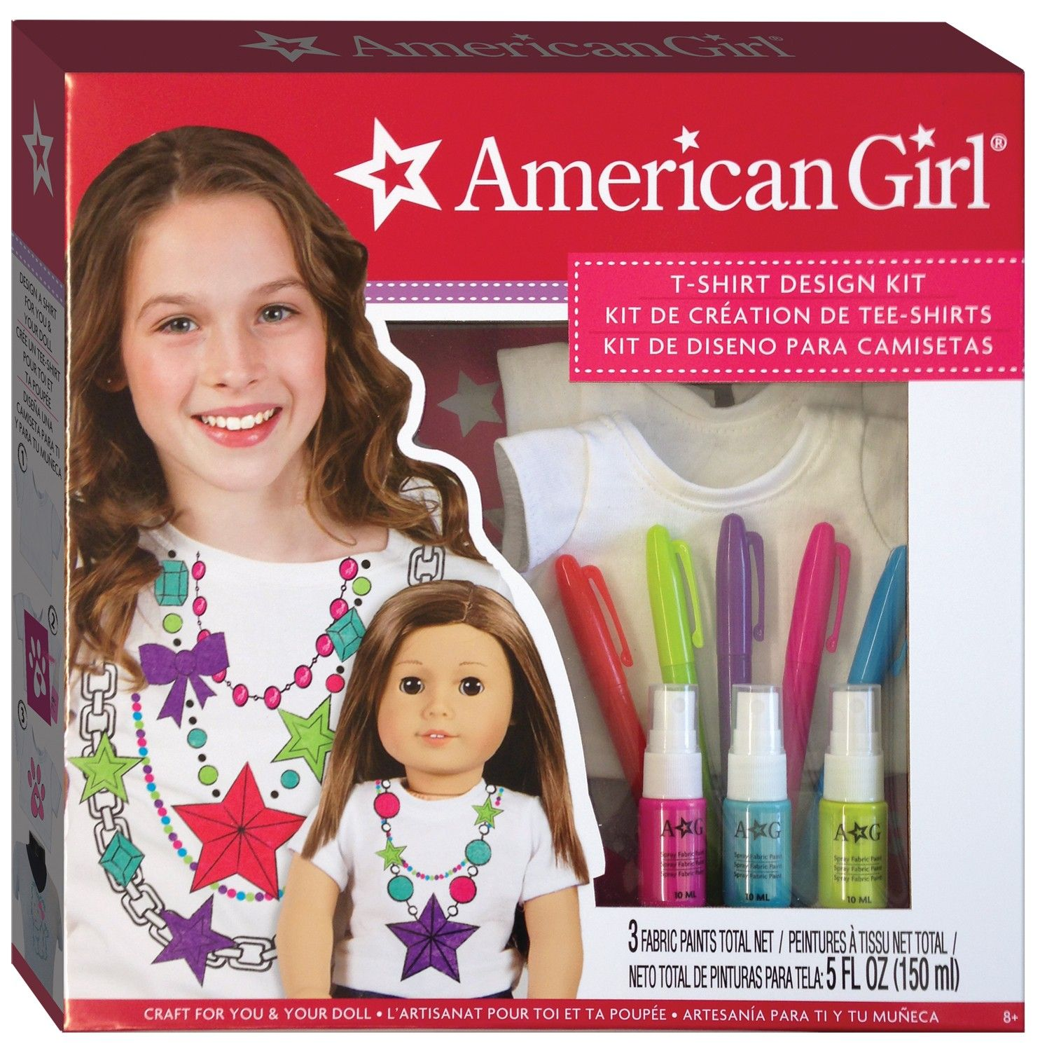 American Girl T Shirt Design Kit Shirt Designs Fashion Angels American Girl