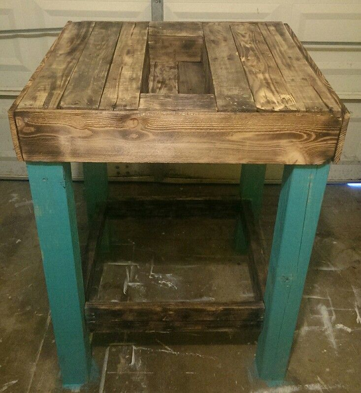 Rustic Table from reclaimed wood.