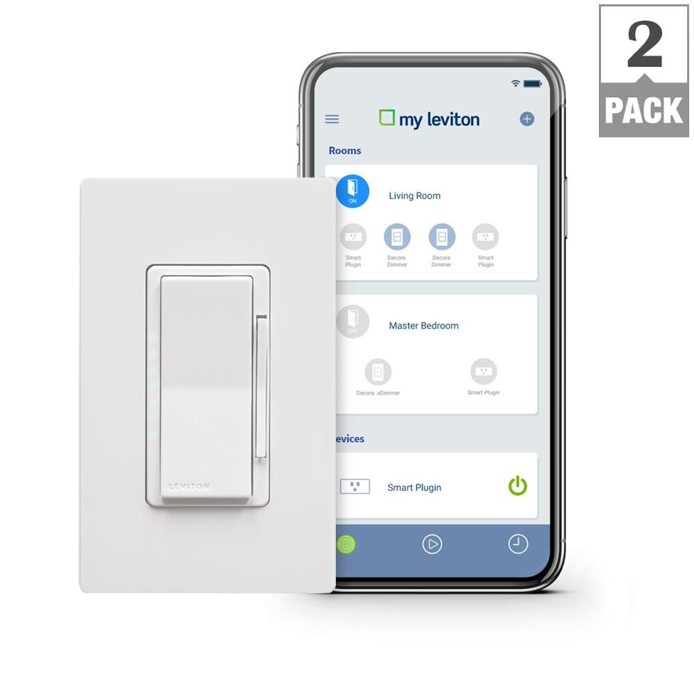 Leviton Decora Smart Wi-Fi 600W Incandescent/300W LED Dimmer