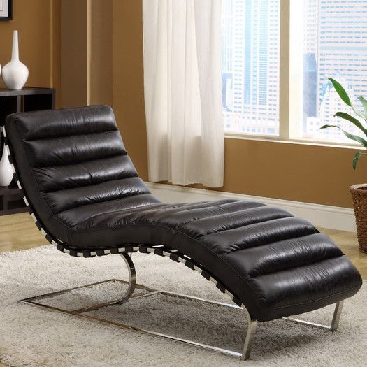 Ordinaire Lazzaro Leather Toscana Leather Chaise Lounge | AllModern