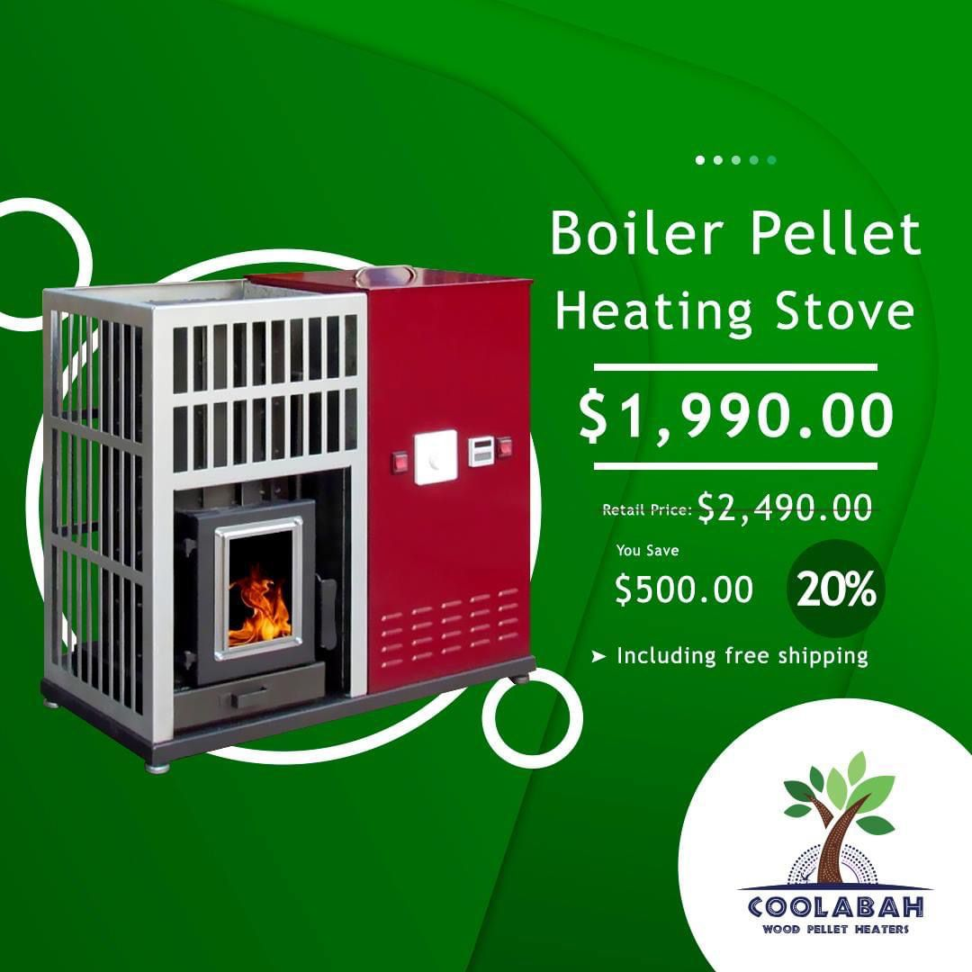 Coolabah Wood Pellet Heater in 2020 | Pellet heater, Wood ...