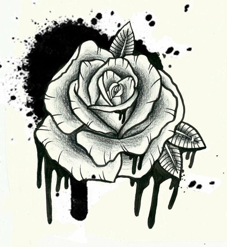 1001 Idee Per Tatuaggio Rosa Colori Significati E Diverse