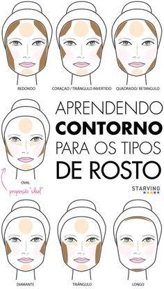 Acertar o contorno de acordo com seu tipo de rosto.   30 passos essenciais  da sua rotina de beleza que você pode estar esquecendo 0430b845d1