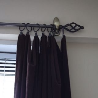 A 3M Command Hook To Hold Up Curtain Rod Perfect When You Cant Drill Holes In Rental Or Dorm