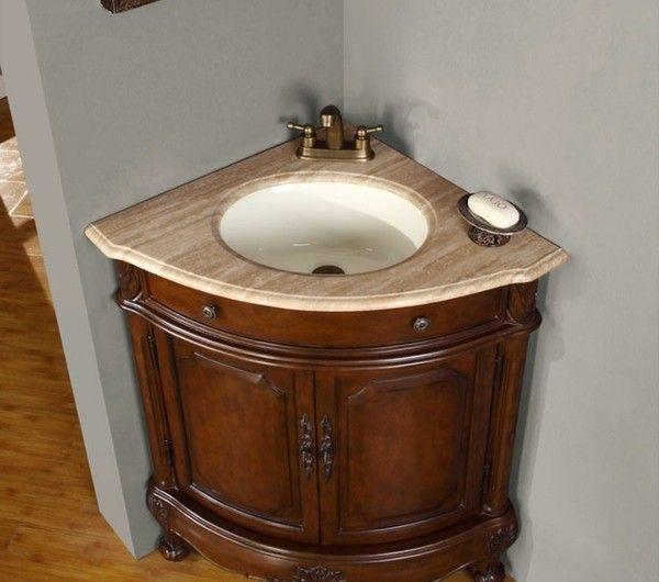Eckwaschbecken mit Unterschrank fürs Badezimmer! Möbel Pinterest - bilder fürs badezimmer