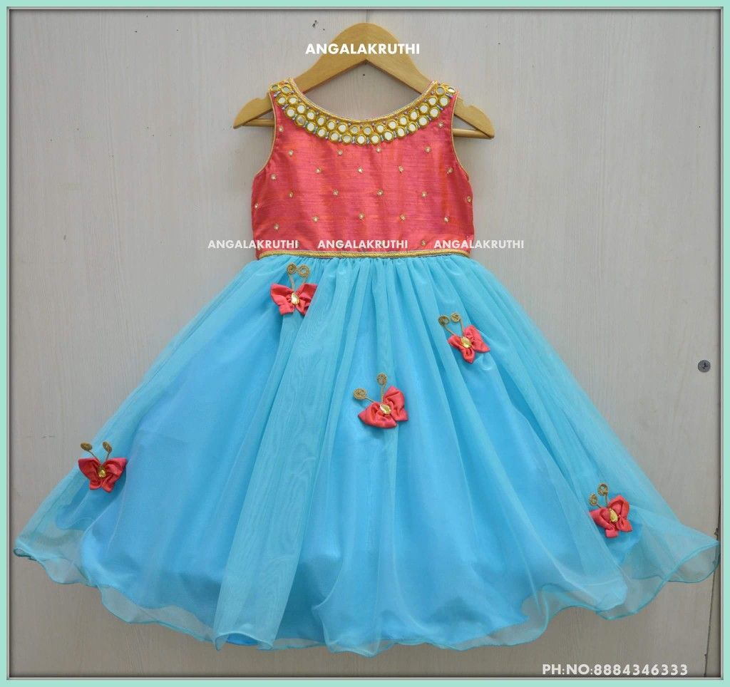 Kids Frock Designs By Angalakruthi Boutique Bangalore
