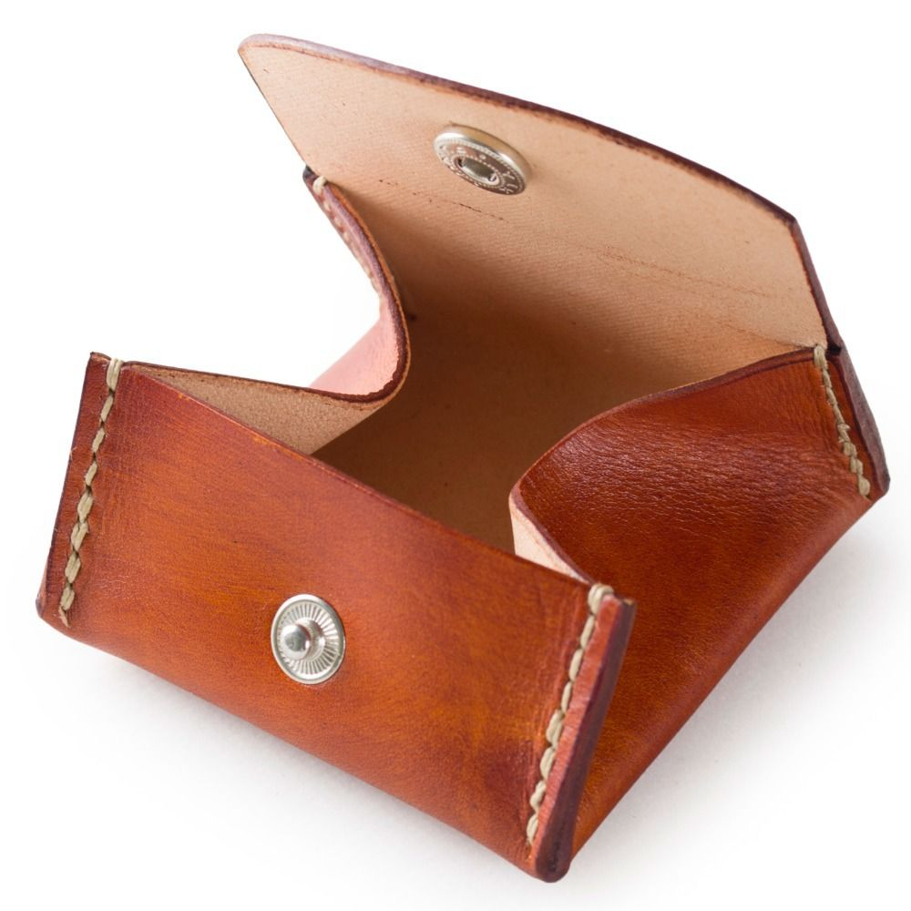 genuine leather coin purse wallet pouch by handmade unique