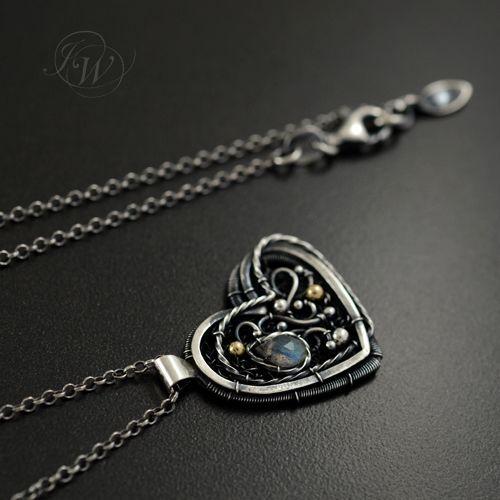 JOANNA WATRACZ - Ażurowy srebrny naszyjnik - ONLY FOR YOU!