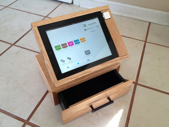 drawer receipt and for of cash ipad card a an point attractive is solution pos the cashbox sale credit happy that orig drawers into integrates owl studio reader debit printer