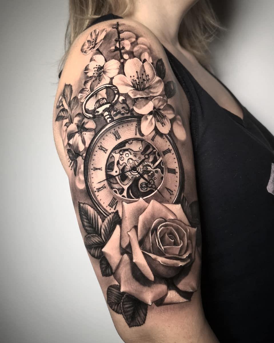 Women Quarter Sleeve Tattoos : women, quarter, sleeve, tattoos, Lisbeth, Garcia, Quarter, Sleeve, Tattoos,, Beautiful, Tattoos, Women,, Mommy