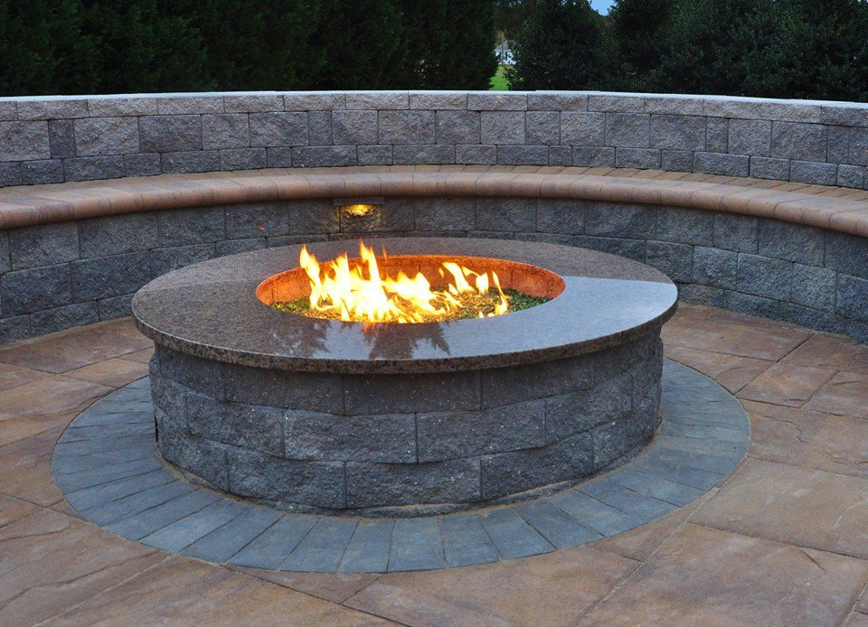 Turn your patio into the perfect hangout for family and ... on Living Room Fire Pit id=35324