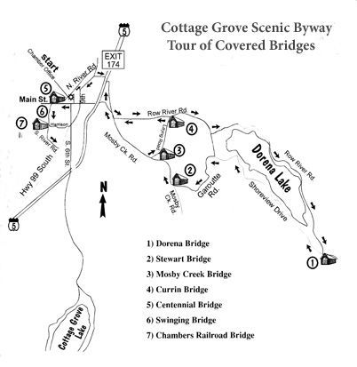 Cottage Grove Tour of Covered Bridges | Oregon day trips! | Covered on