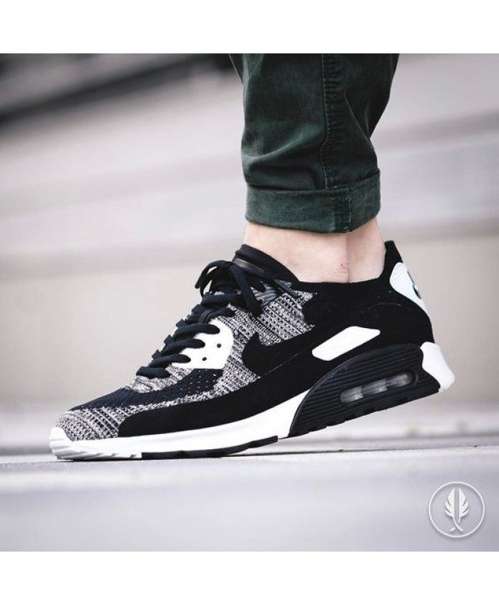 innovative design 6ced3 39a3a Nike Air Max 90 Ultra 2 0 Flyknit Black N White Shoes is good for doing  exercise!