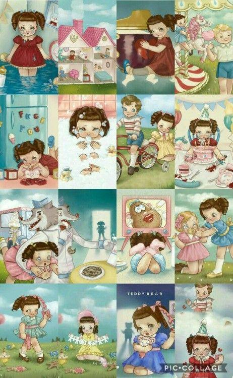 Tumblr Te Permite Expresarte Libremente Descubrir Cosas Que No Sabias Sobre Ti Y Conocer Melanie Martinez Drawings Cry Baby Storybook Crybaby Melanie Martinez
