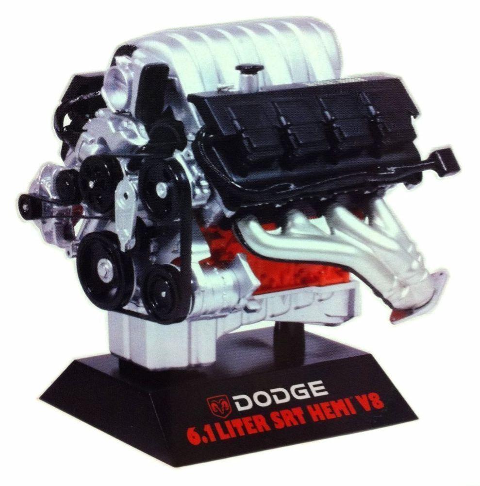 hawk dodge 6 1 liter srt hemi v8 engine red hawk 11070 1 6 rh pinterest co uk