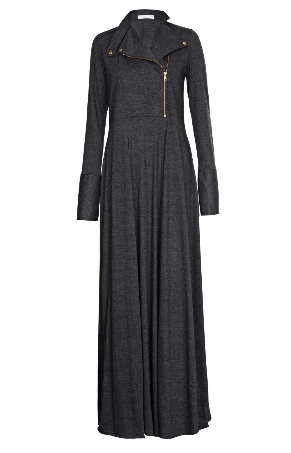 Aab UK Carbon Kawasaki Abaya : Standard view | Hijab ...