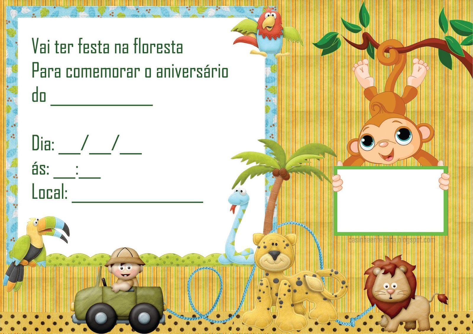 Kit Festa Safari Para Imprimir Gratis Kit Festa Safari Festa