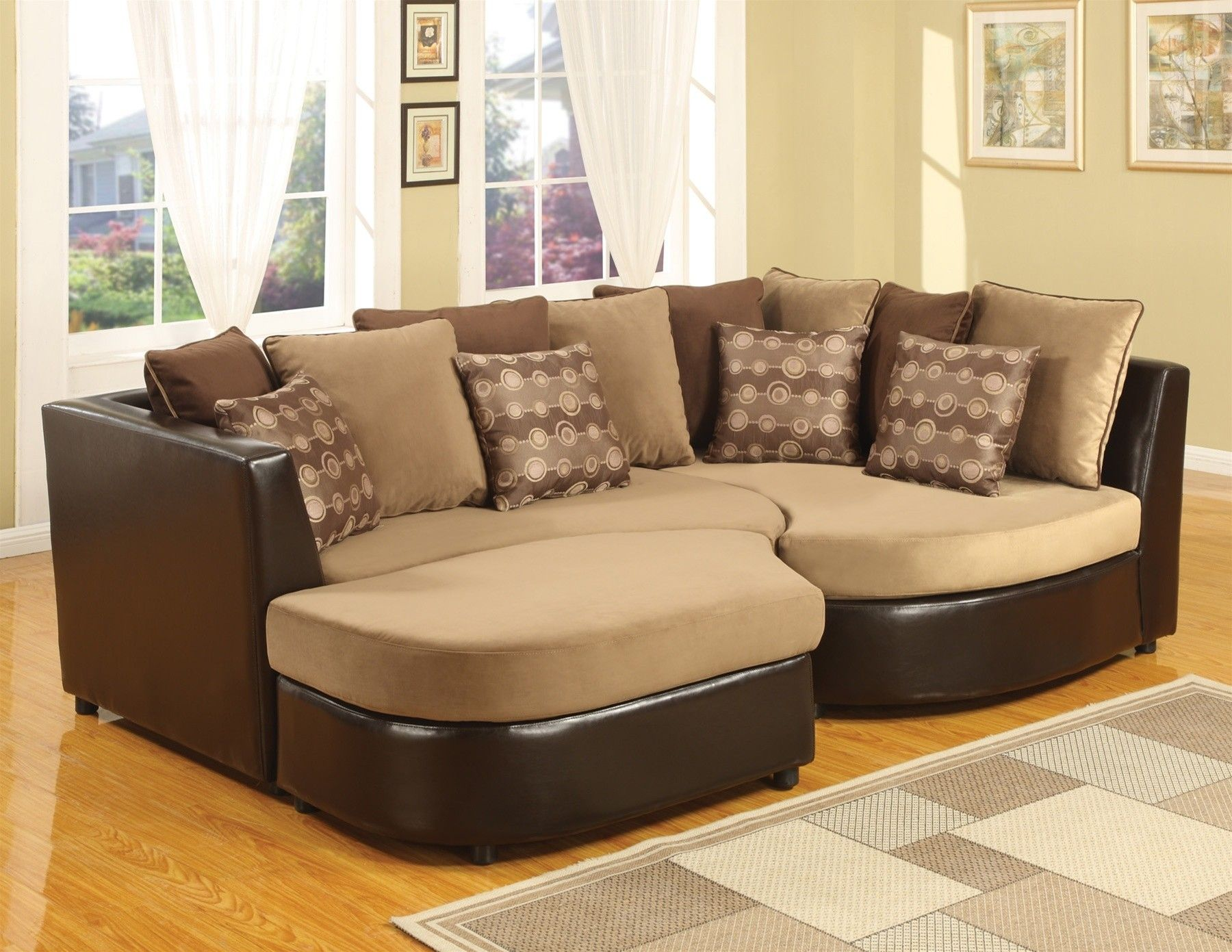 4 piece sectional puzzle sofa