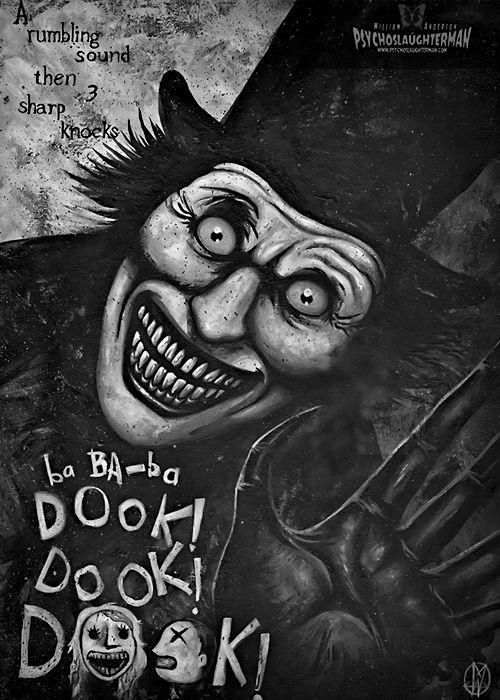 whitesoulblackheart: ba BA-ba Dook! by PsychoSlaughterman