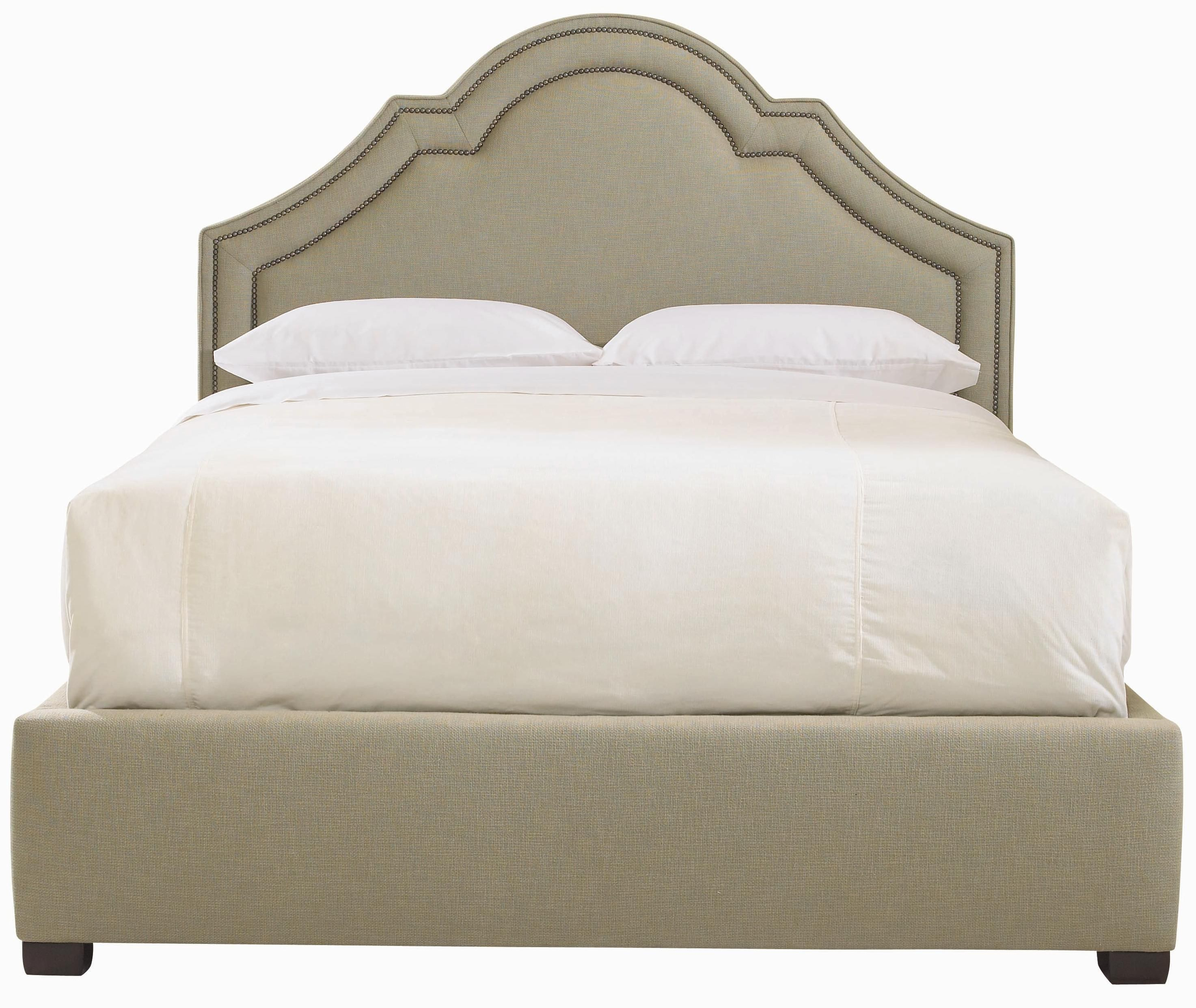 Madison Upholstered Crown Top Bed by Bernhardt