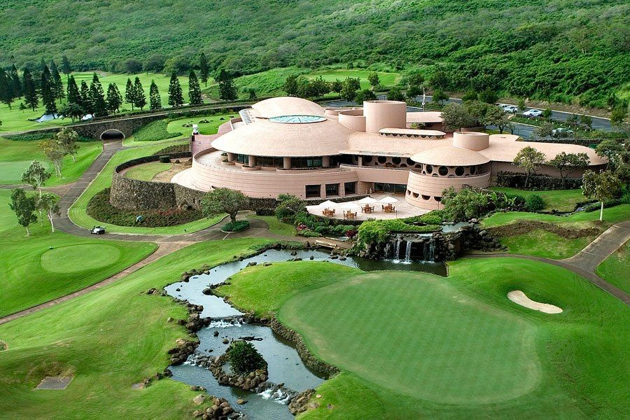 The best golf clubhouse architecture frank lloyd wright Golf course house plans