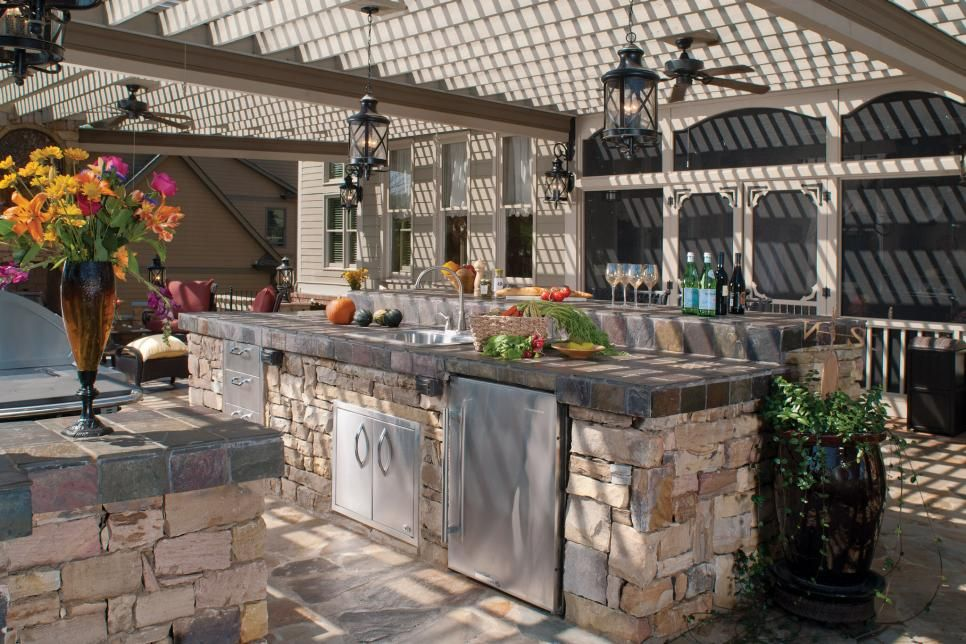 Dreamy Outdoor Kitchens Outdoor Kitchen Photos