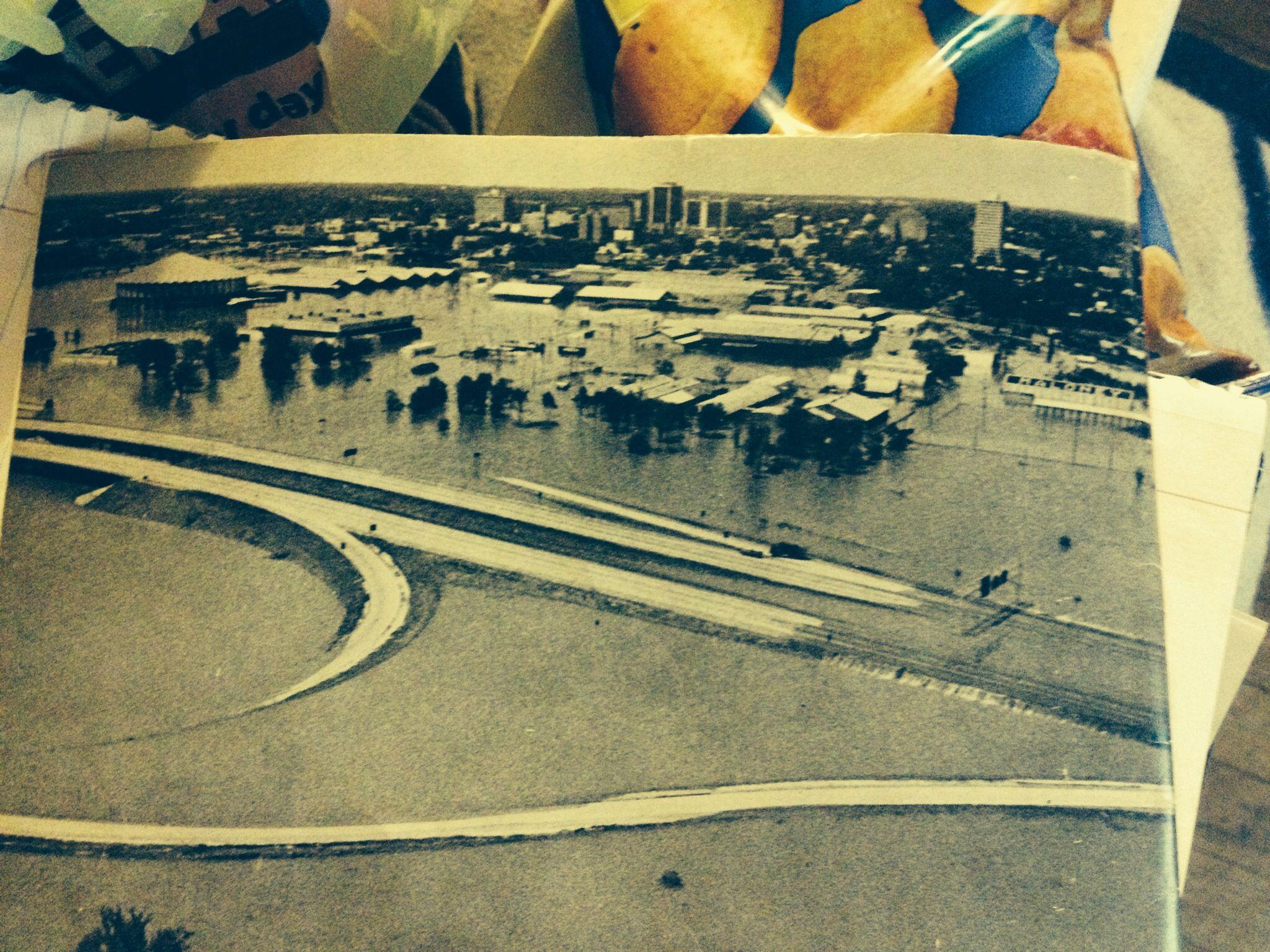 downtown jackson easter flood 1979 jackson ms pinterest
