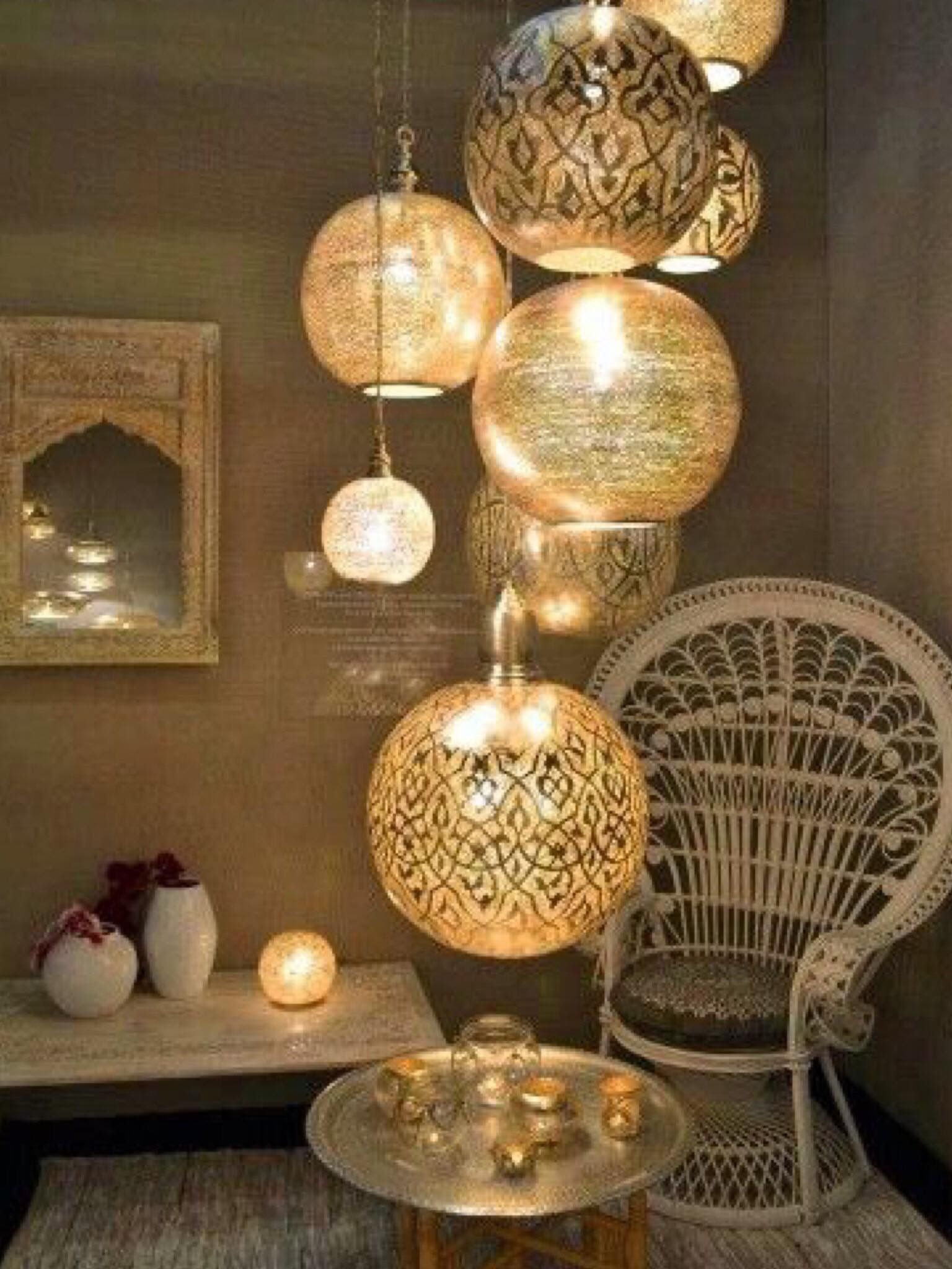 Moroccan Lanterns Moroccan Style Pendant Lamps Lighting