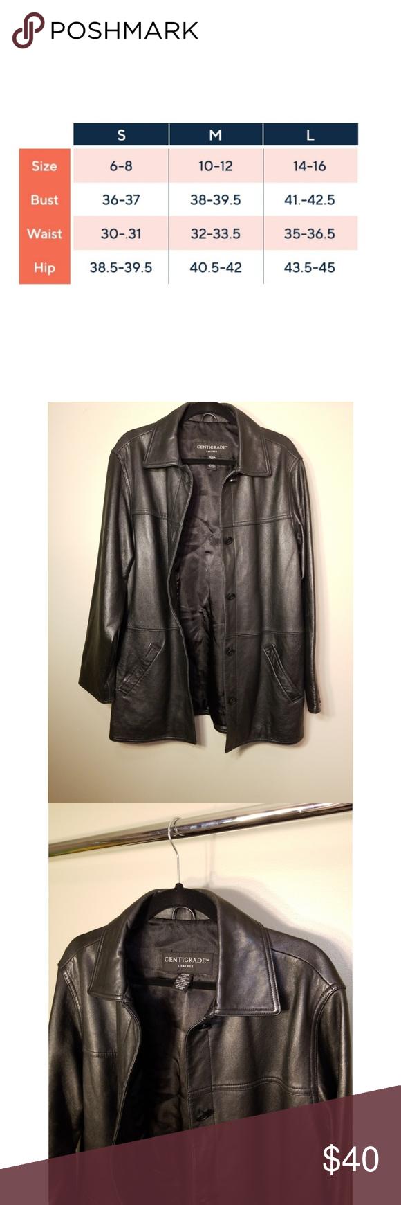 Centigrade Leather Jacket Size Medium Leather Jacket Leather Jackets Women Jackets [ 1740 x 580 Pixel ]