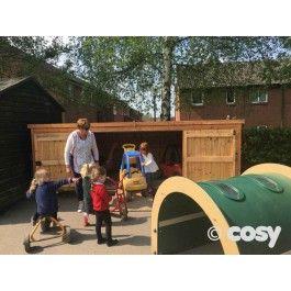 RIPLEY BIG BIKE SHED | Bike shed, Cosy direct
