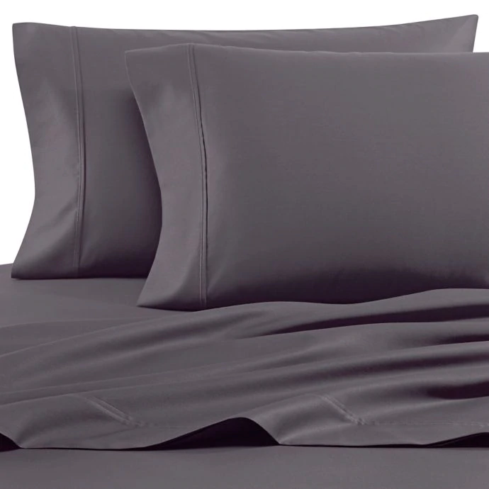 Heartland Homegrown 400 Thread Count Solid Sateen Sheet Set
