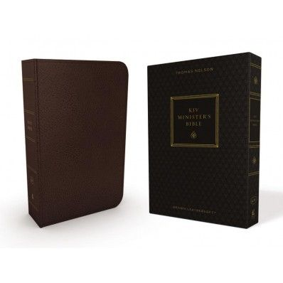 The KJV Minister's Bible uniquely meets the needs of a