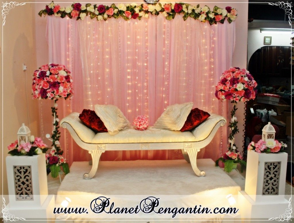 Wedding decorations muslim  Sakinah Nauim sakinahnaim on Pinterest